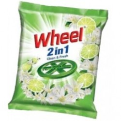 Wheel Washing Powder 2 in 1 Clean & Fresh 1 kg