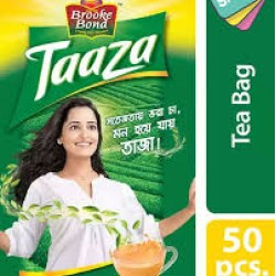 Brooke Bond Taaza Tea Bag 50 pcs 105 tk