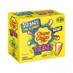 Chupa Chups Tubes Mini Box 10 Pcs..